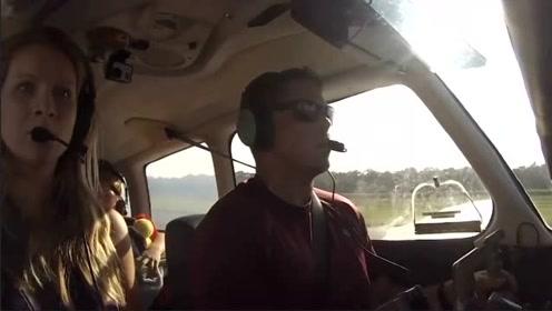 加拿大飞行员驾机携妻女出行 飞机遇故障成功迫降