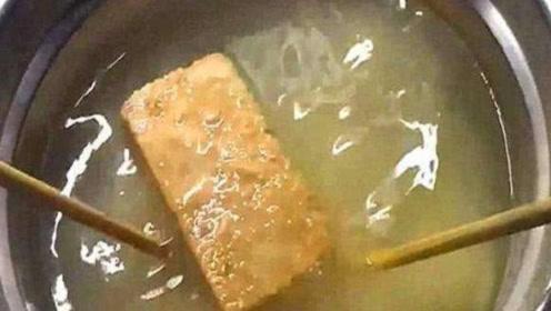 军用压缩饼干真能抗饿48小时?当放入沸水中后,这画面谁能淡定!