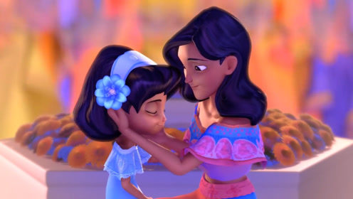 小女孩思念妈妈整日不开心,最终她们在梦中相拥而泣,打开心结!