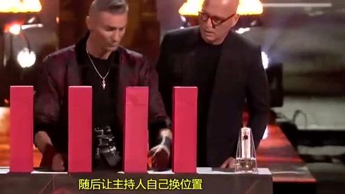 美国达人秀:千万别把舞台交给魔术师,你永远不知道他有多疯狂!