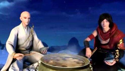 少年歌行 :雷无桀生平第一次吃火锅,表情太逗了