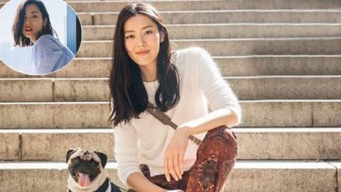 想酷成刘雯 先试试她的衬衫配西裤
