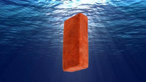 如果把砖头扔进马里亚纳海沟,会降到海底吗?需要多长时间?