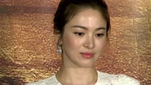 宋慧乔离婚后总画不搭的烟熏妆,但这次40岁的生图脸还是能让人闭嘴
