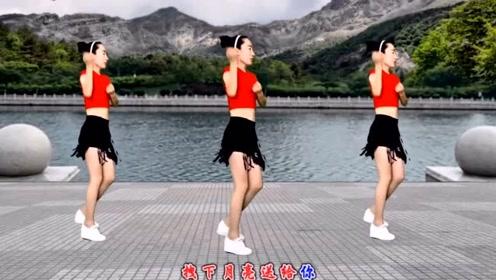 广场舞神曲《小苹果》简单16步附口令教学,好看又好学!