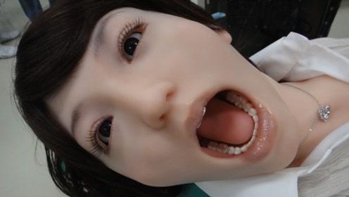 日本研发美女机器人,不仅好看还逼真,疼了还会大叫!