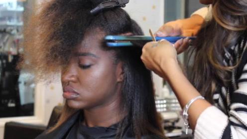 非洲人是怎么理发的?看完理发师操作过程,憋不住想大笑!