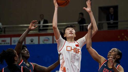 三大球皆胜!中国女篮48分完爆美国,3连胜净胜对手215分