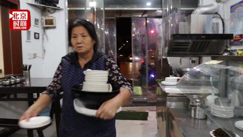 感动!为照顾车祸受伤儿子 6旬母亲在饭店通宵打工三年