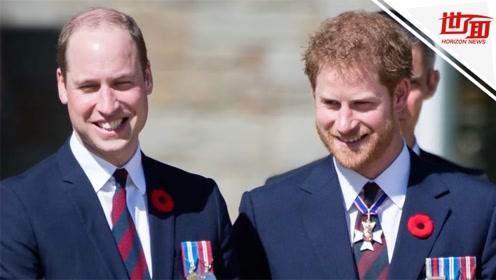 哈里王子首次回应与威廉不和:我们走在不同的路上 但永远是兄弟