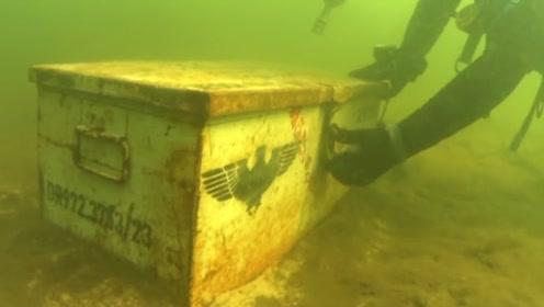 """男子海中发现""""神秘""""箱子,打开一看,差点闪瞎眼!"""
