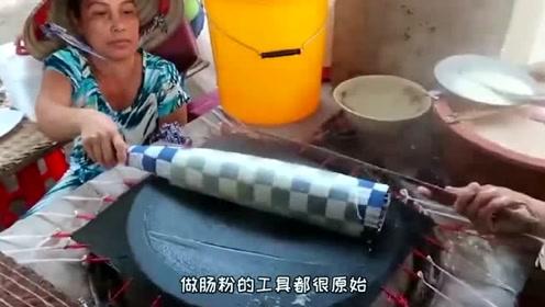 大妈卖了30年的小吃,因为顾客嫌工具脏就换了工具!但是顾客却不买账了!