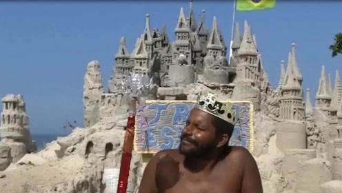 世界上最寒酸的国王,城堡仅3平米,生活全靠游客打赏!