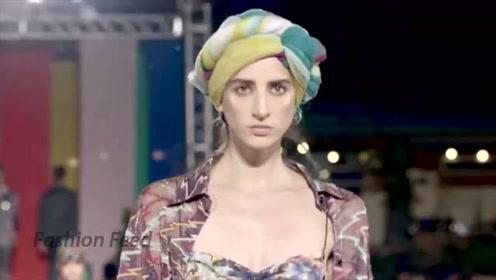 米兰时装周2020春夏成衣秀,Missoni超模经典演绎邻家女人味