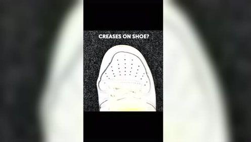 鞋子褶皱了怎么办?一个小妙招教会你