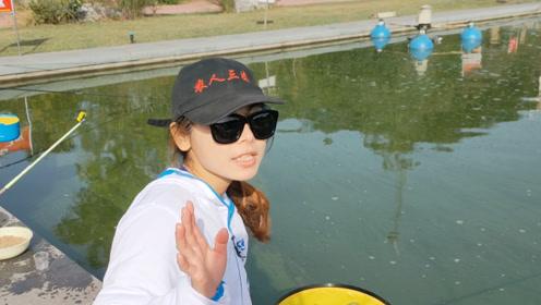 妹子学钓鱼,学费1200块5天,这环境值不值