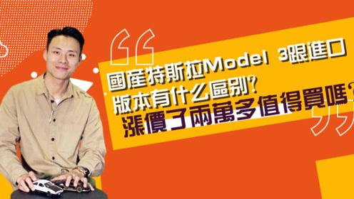 国产特斯拉Model 3跟进口版本有什么区别?涨价了两万多值得买吗?