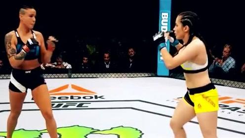 """UFC""""柔术女神""""维罗妮卡-马塞多,长相漂亮腹肌比男生明显"""