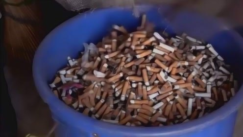 小伙仅靠捡烟头,一年就可赚40万,原来烟头充满着商机!