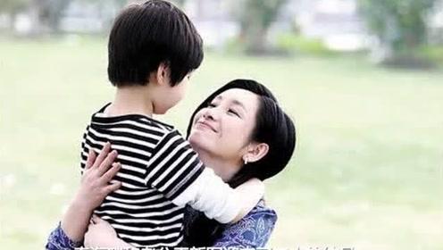 秦海璐的巨婴症儿子照片曝光,出生时9斤,4年之间变化万千