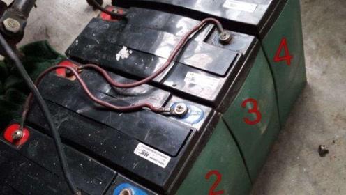 电动车不要再换电瓶了,老司机自己动手解决,可以多使用三年