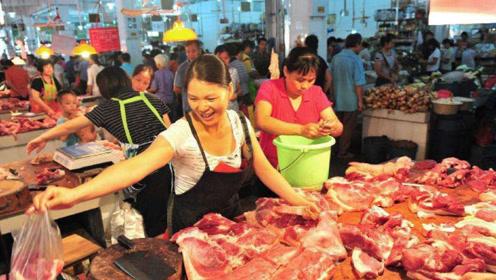 一万吨猪肉投放市场,按时足额发放补贴,国庆可以大块吃肉了