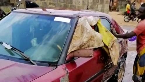 非洲的万元户洗车,准备好明天参加婚礼,这样都能称为有钱人!