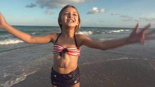 """世界上最""""脆弱""""的女孩,心脏天生长在外面,每活一天就是奇迹"""