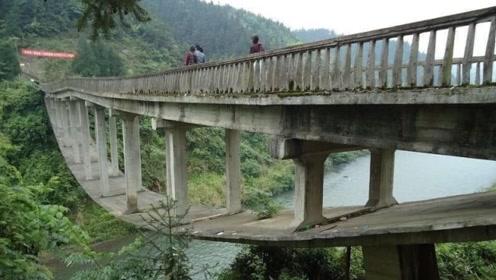 """中国最""""奇葩""""的桥!设计师被怀疑图纸拿反了,现在已经被炸毁"""