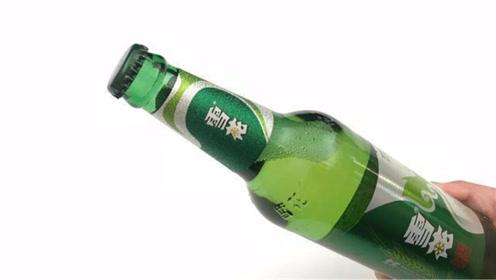 原来开啤酒这么简单,只需用一张纸就搞定,轻松不费力,涨知识了