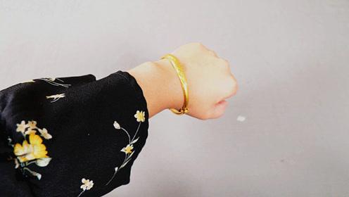 黄金手镯戴左手还是右手?看完这三点你再决定,早知早受益