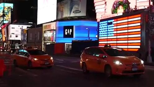 凌晨2点的纽约是怎样的?与大家想象的不一样,许多人都睡在街上