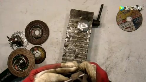 用废弃的零部件加工成这个,成品直到最后一刻才看明白!