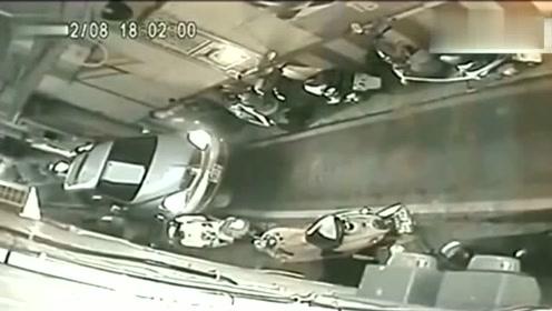 厉害的女司机,如果没有监控,都不相信她会这么做