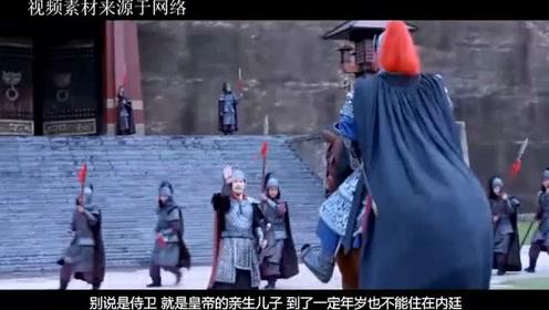 """皇宫的侍卫都是强壮男子,皇上就不担心妃子""""红杏出墙""""?太天真"""