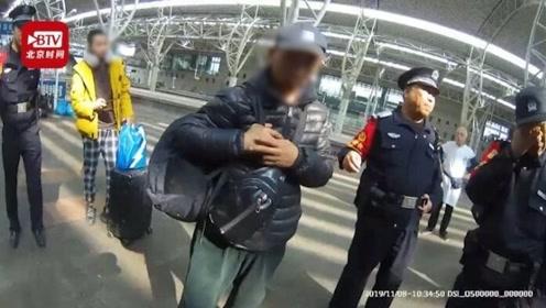 5旬男子火车上猥亵20岁小伙 目击女乘客:真尴尬