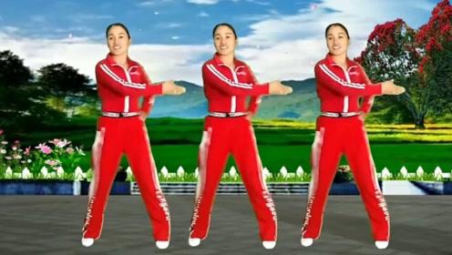 广场舞《别说爱上姐》动感时尚32步教学,常见动作超简单