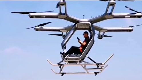 国内首款电动直升机载人飞行成功