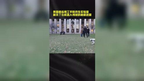 """集体后空翻还会踢球!麻省理工""""迷你猎豹""""来袭"""