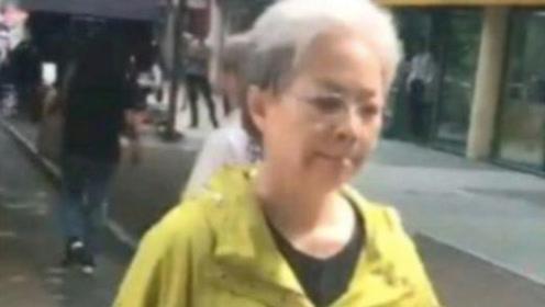 宋丹丹也老了?现身街头满头白发,曾公开宣布:明年60岁时要退休