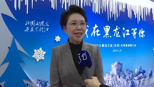 2019黑龙江省(北京)冬季旅游推介会 厅长张丽娜及一众嘉宾出席现场