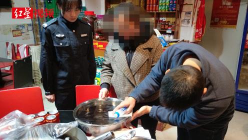 违规使用老油被当场逮到 龙泉驿这家网红火锅店遭了