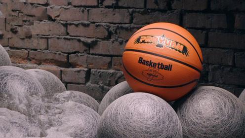 2分钟告诉你篮球是怎么制作的