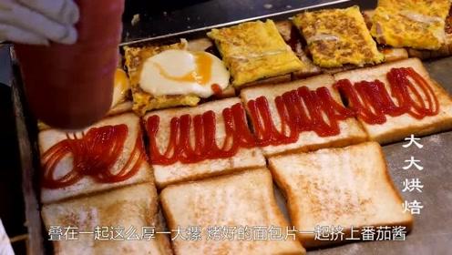 创业好选择,街头火爆小吃:奶酪三明治,厚厚一坨奶酪直往下流!