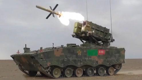 罕见画面:红箭-10狙击低空直升机 猎杀坦克
