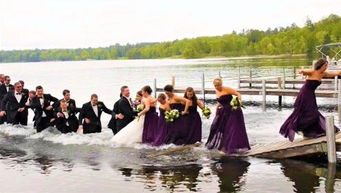 吓死了!参加婚礼居然发生这种事!婚礼差点变葬礼