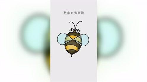 妈妈画的蜜蜂VS我画的蜜蜂