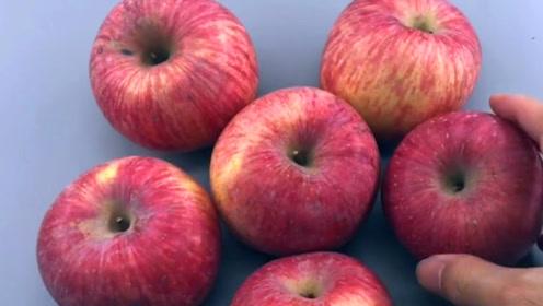 苹果甜不甜,看一眼这里就知道,果农教的方法就是好