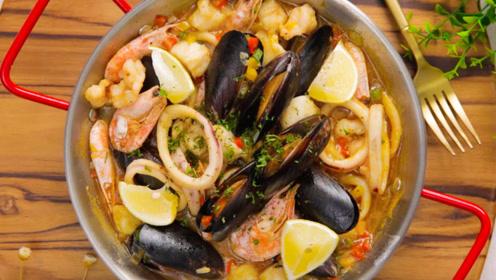 汤品的西班牙代表,鲜美无比的西班牙海鲜锅!