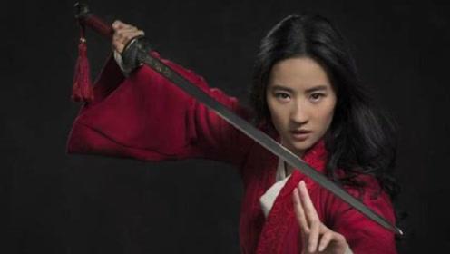 刘亦菲版《花木兰》落泪镜头,眼神犀利,没有仙女姐姐的影子